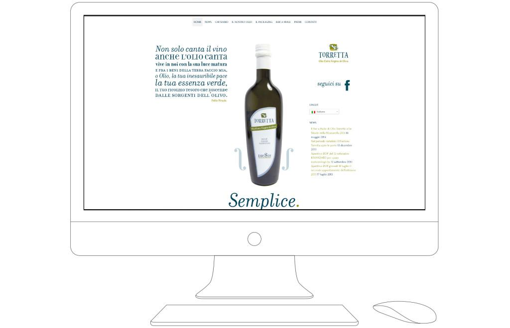 Olio Torretta home page
