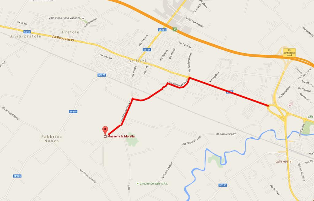 Masseria la Morella - Google Maps 2015