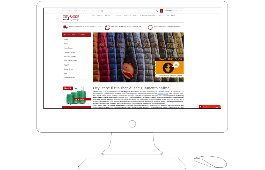 citystoreshop home page