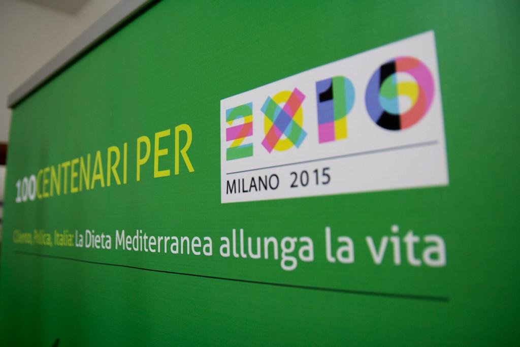 100 Centenari per EXPO rollup